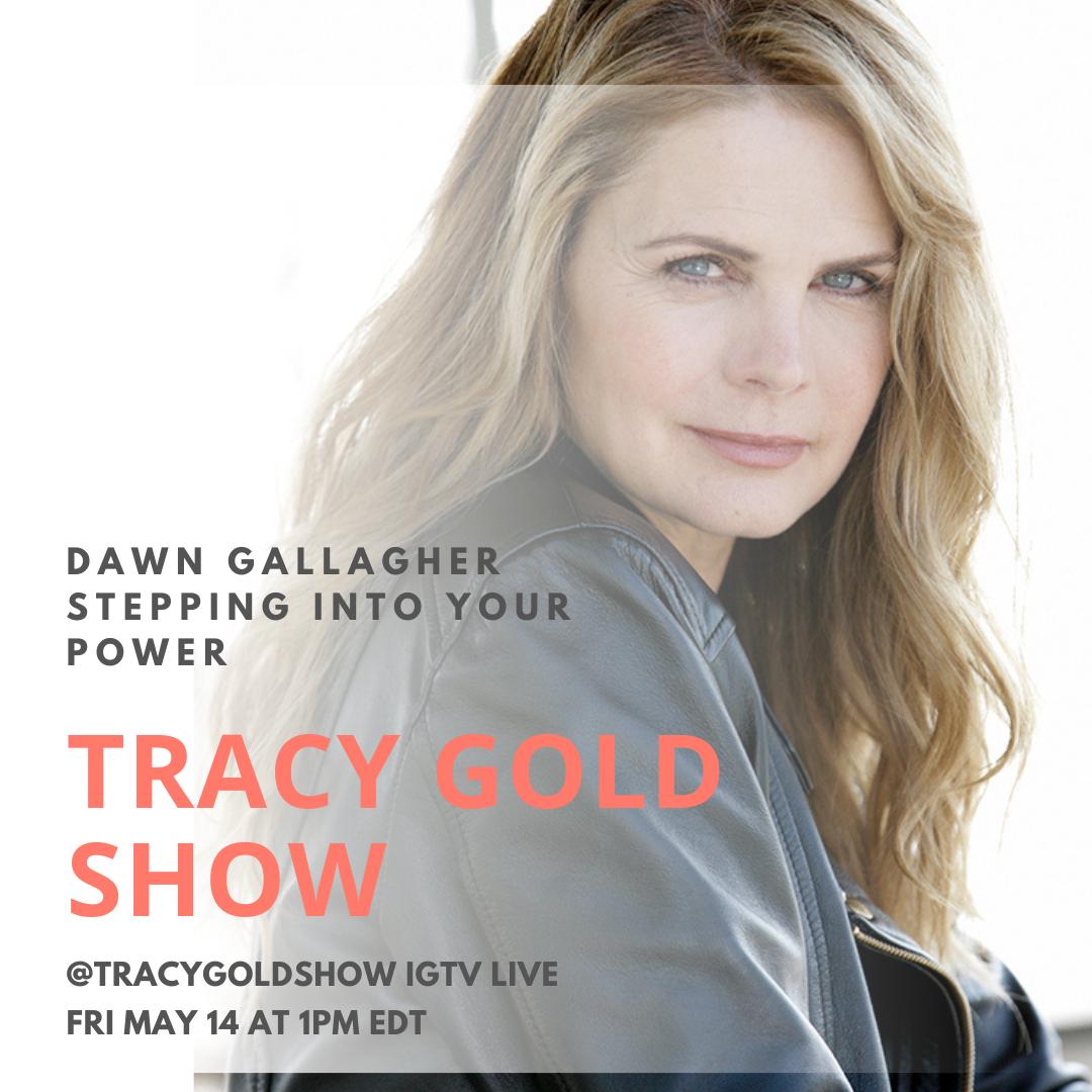 Dawn Gallagher Tracy Gold Show