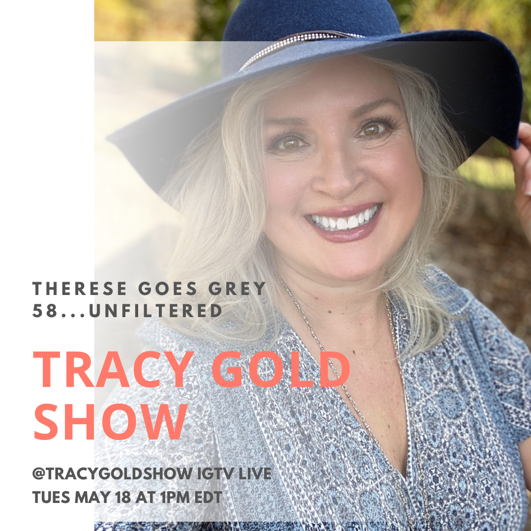 Therese Goes Grey Tracy Gold Show