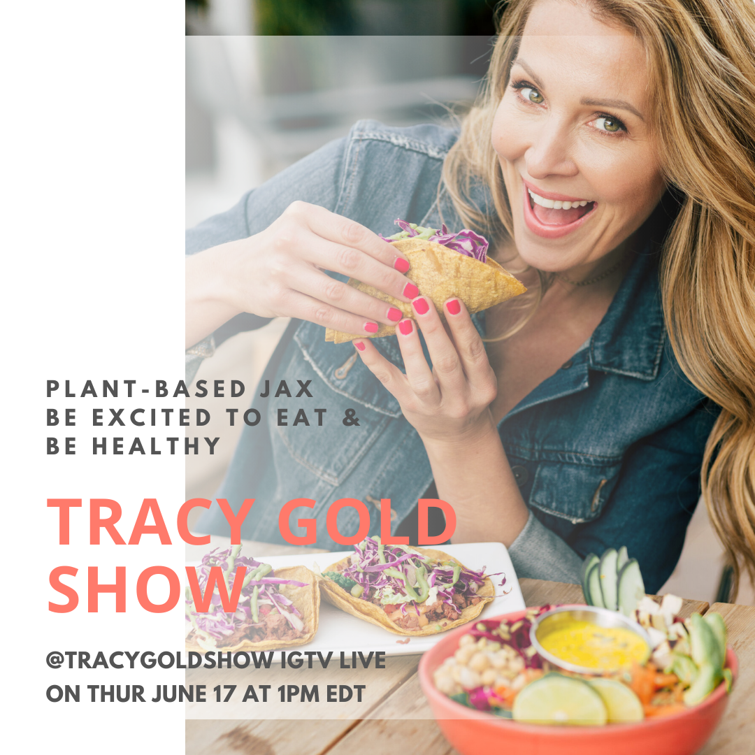 Plant based Jax - Tracy Gold Show