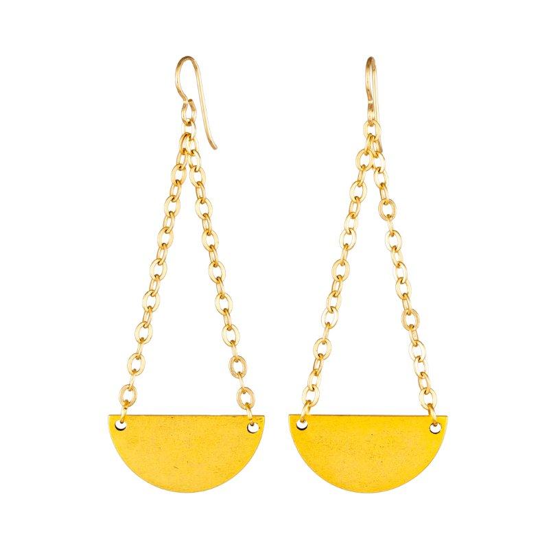 Tracy Gold Show Illuminated Me Swinging Earrings