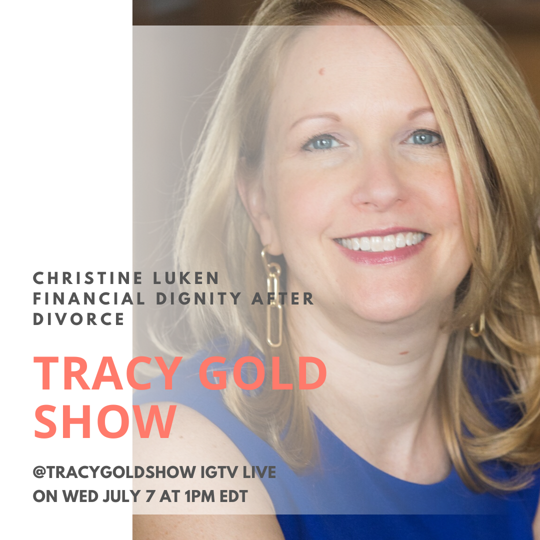 CHRISTINE LUKEN- Tracy Gold Show