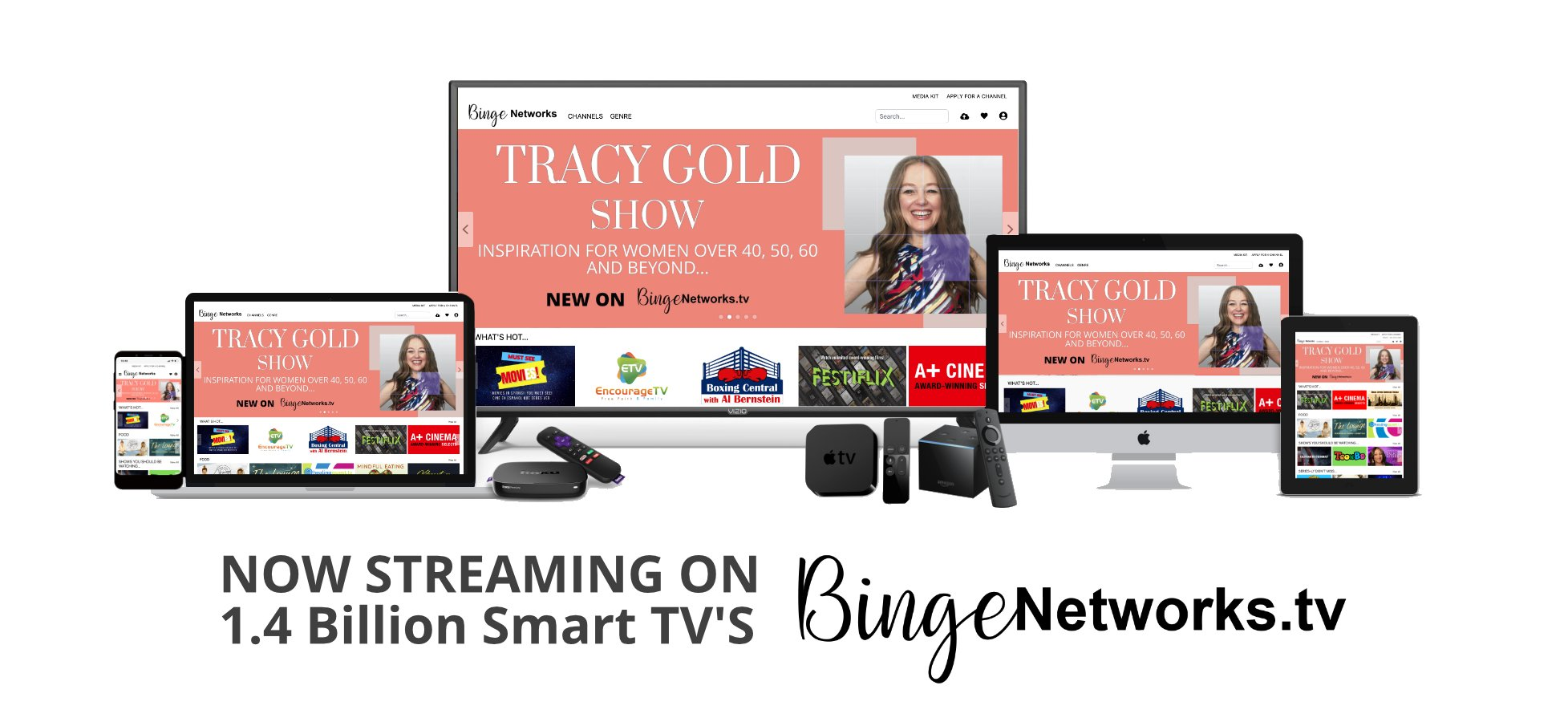 Tracy Gold Show - Streaming online