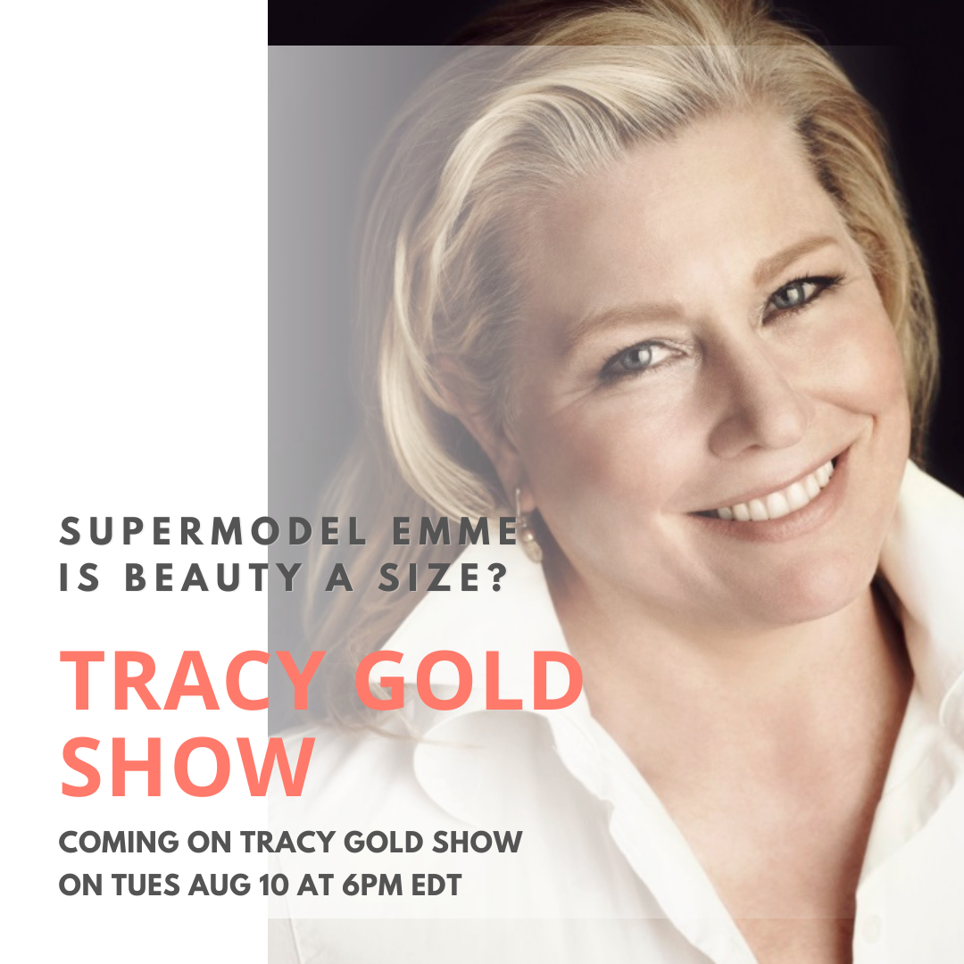 Emme Supermodel - Tracy Gold Show (2)