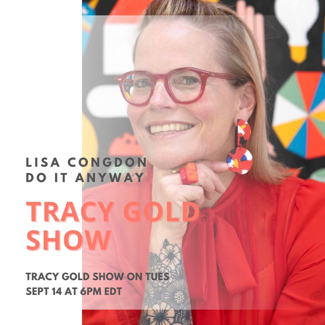 Lisa Congdon - Tracy Gold Show